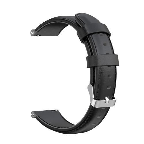 Cinturino per orologio da 16 mm Cinturino in pelle cerata con olio Cinturino di ricambio a sgancio rapido per uomo Donna compatibile con HUAWEI TalkBand 6