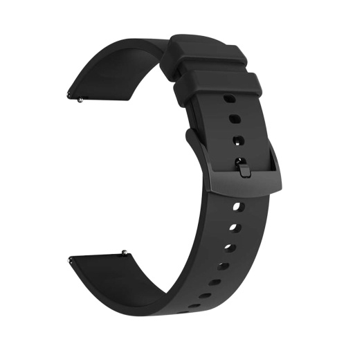 20mm Watch Band Soft Silicone Quick-release Strap Universal Breathable Wristband Replacement for COLMI P8 Plus Smartwatch and Other Watch