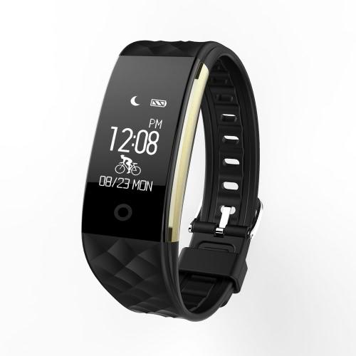 S2 Heart Rate Смарт BT Спортивные часы браслет браслет 0,96