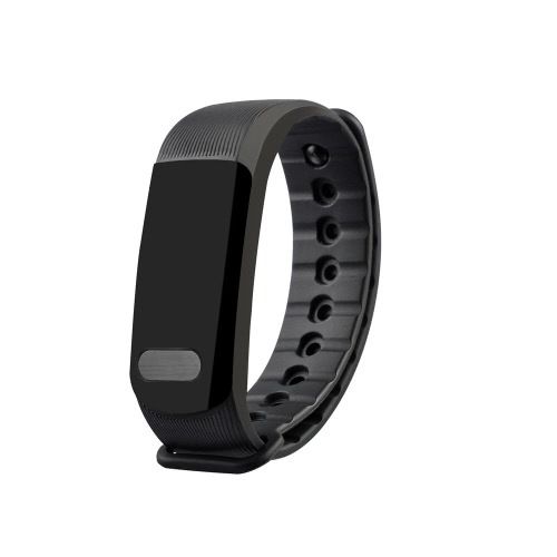 OUKITEL A19 Heart-rate Smart BT Sport Wristband Calls Notification Activity Tracking Sleep Monitor for iPhone 7 Plus Samsung S8+ for iOS Android
