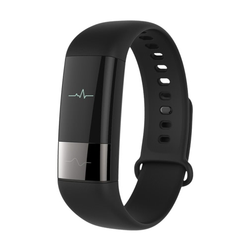 Xiaomi AMAZFIT Midong Health Smart Band Fitness Tracker IP67 Waterproof BT Pedometer Sleep Monitor Heart Rate HRV Fatigue Monitor Smart Bracelet for iPhone 6 6S 6 Plus 6S Plus 7 Plus Samsung S6 S7 edge Android iOS Smartphone