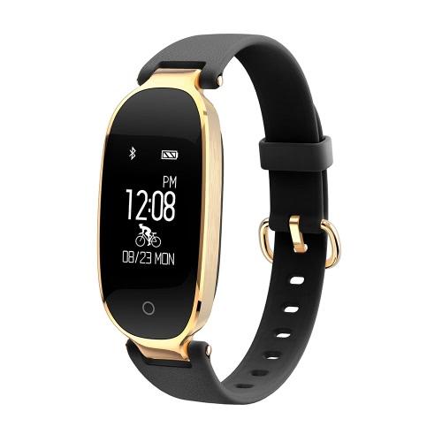 S3 Smart Band Heart Rate Monitor Détection automatique du sommeil imperméable à l'eau Appareil photo à distance Recorder Record Record Rappel pour iOS et Android