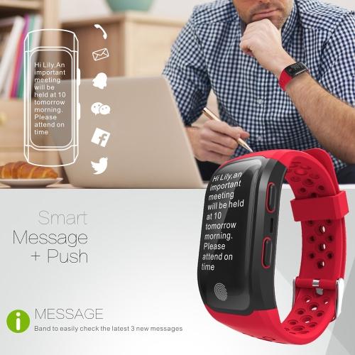 S908 GPS IP68 Waterproof Fitness Tracker Smart Band Watch