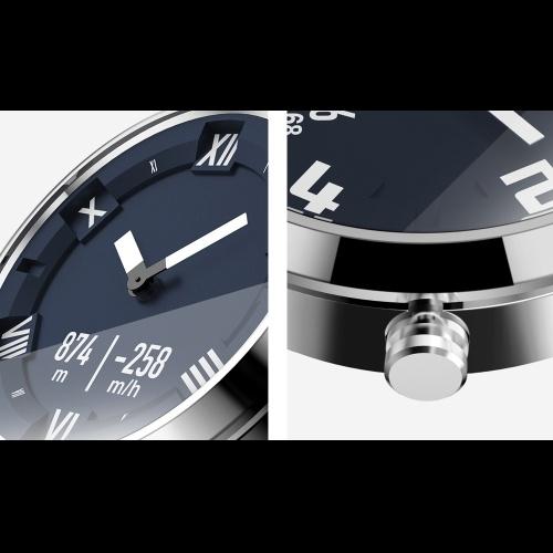 Lenovo Watch X Plus Roman Dial Air Pressure Temperature Sensor Smart Watch