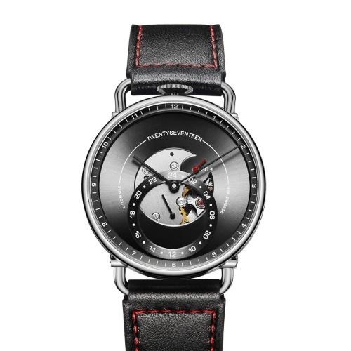 TwentySeventeen Reloj mecánico automático para hombres de negocios Reloj mecánico