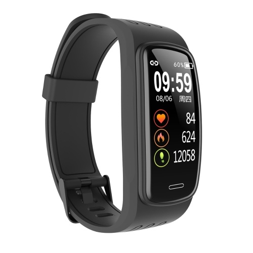 Smart Sports Watch with Silicone Strap Compatible with Android iOS