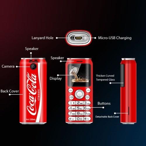 SATREND K8 Feature Phone 2G GSM Dual SIM Mini Phone