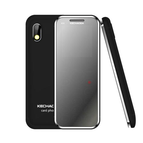"KECHAODA K33 2G Feature Phone Dual SIM 1.44"" 32MB BT Dialer 0.08MP Rear Camera With Flash 460mAh Detachable Battery MP3/MP4/FM Mini Mobile Phones for Child Seniors"