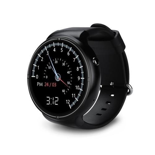 I4 Pro Heart Rate Smart BT Sport GPS 3G/2G Watch Phone MTK6580 1.3GHz 2GB RAM+16GB ROM Android 5.1 Call Notification Pedometer Alarm Metal Frame MP3 MP4 WiFi 400mAh