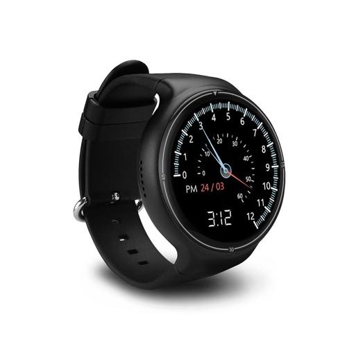 I4 Pro Heart Rate Smart BT Sport GPS 3G / 2G Watch Phone MTK6580 1,3 ГГц 2 ГБ ОЗУ + 16 ГБ ROM Android 5.1 Уведомление о вызове Шагомерная сигнализация Металлическая рама MP3 MP4 WiFi 400 мАч