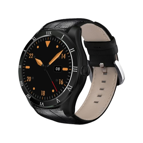 Q5 Heart Rate Smart BT Sport GPS 3G / 2G Watch Phone Touch Screen 512MB RAM 8GB ROM MTK6580 Quadcore Android 5.1 Camera Call Notificação Pedômetro Alarme Metal Frame MP3 MP4 WiFi