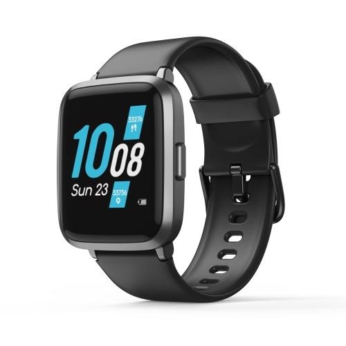 KOOGEEK ID205U Smart Watch Black Fitness Tracker