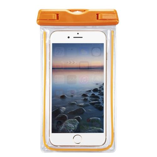 """Capa fluorescente subaquática à prova de água Cobertura da caixa seca para 4-6 """"iPhone Touch Screen"""
