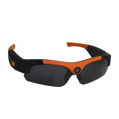 Muiti-funcional HD 1080P Eyewear Video Recorder Grande angular 120 ° Alta Definição Esportes Óculos de sol Camera Recording DVR Glasses Webcam