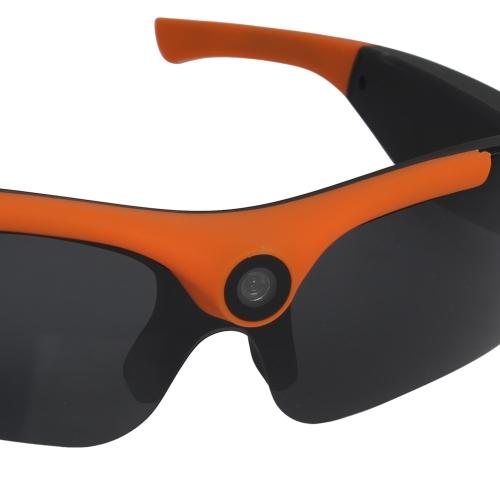 Muiti-functional HD 1080P Eyewear Video Recorder Wide Angle 120° High-definition Sports Sunglasses Camera Recording DVR Glasses We