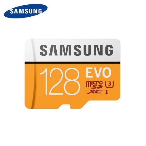SAMSUNG EVO Microsdカード128GB 100Mb / s Class10 U3 U1 SDXCグレードEVO Micro SDカードメモリカードTFフラッシュカード