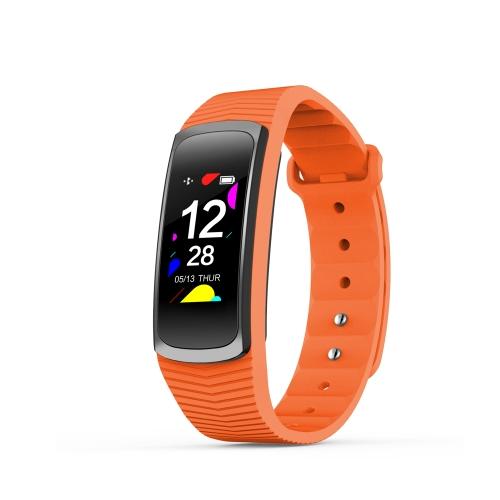 SMA B3 Smart Band 0,96 polegadas tela sensível ao toque 3ATM resistente à água pulseira inteligente pressão arterial pressão cardíaca monitor de sono monitoração física rastreador de mensagens de chamada 90mAh