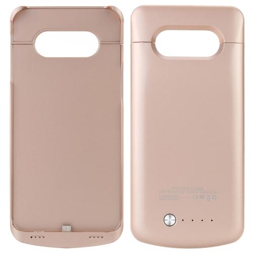 4200mAh 外部バッテリー外部 USB ポート電源銀行充電器パック バッテリ ケース サムスン S6 エッジ プラス