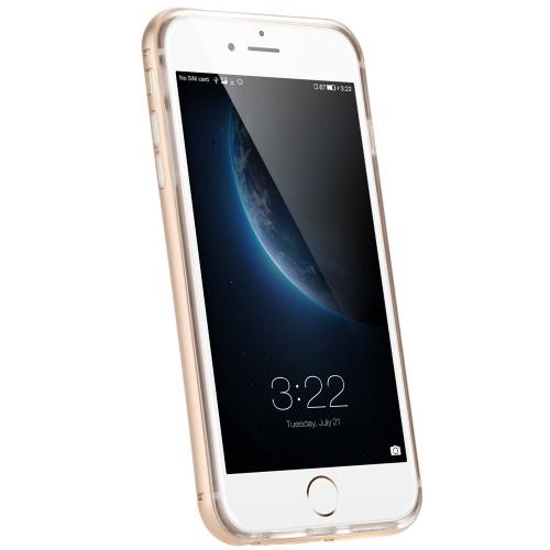 KKmoon タルフレーム+ TPU電話ケース 保護カバー シェル 環境に優しい素材 スタイリッシュ  ポータブル 超薄型 アンチスクラッチ アンチダスト 耐久性 iPhone 6 Plus 6S Plus用
