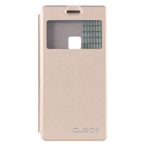 Cubot Protective Phone Cover Lightweight Fashion Bumper Flip Shell Case with Window for Cubot S500