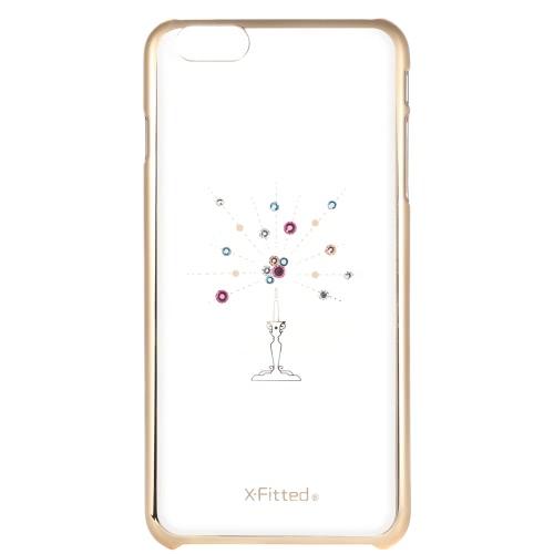 X-Fitted Osłona Osłony Zderzaka Obudowa Zderzaka z Rhinestone dla iPhone 6 Plus 6S Plus