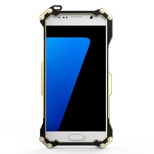 Original R-só transformador da fibra do carbono alumínio Metal Frame Gundam exterior escalada capa Case para Samsung S7