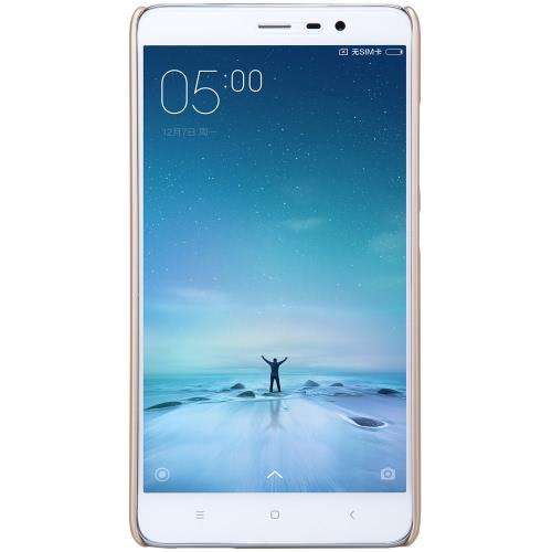 NILLKIN Phone Case ochronna pokrywa Shell 5,5 cala Xiaomi redmi Uwaga 3 papilarnych materiału przyjaznego środowisku Stylish Portable ultracienkich Anti-scratch przeciwkurzowe Durable