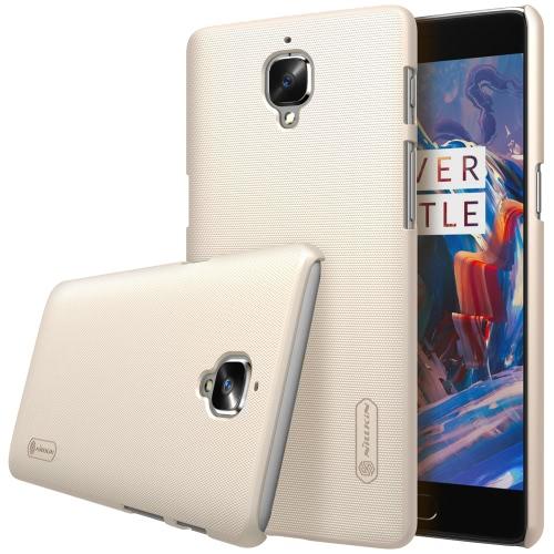 NILLKIN fosco protetora volta caso Shell tampa no vidro traseiro para OnePlus 3 Smartphone