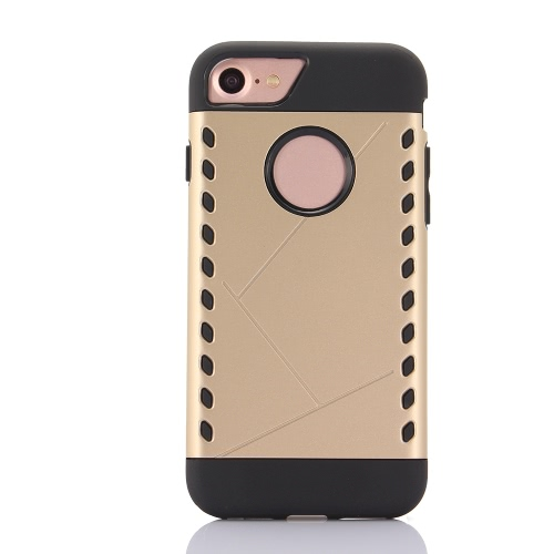 KKmoon Protective Back Case Bumper Shell Cover for Apple iPhone 7 Smartphone
