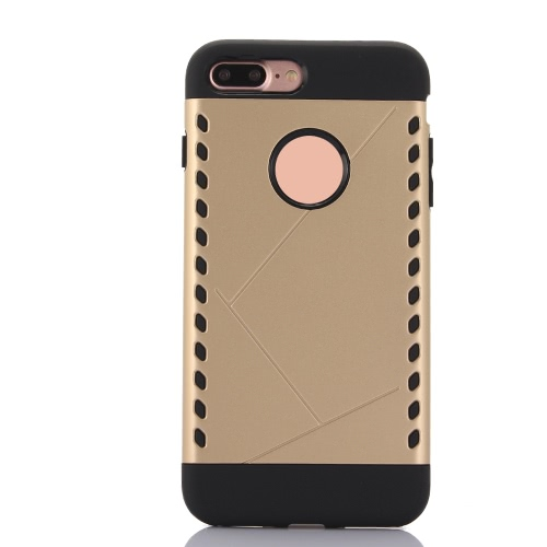 KKmoon protetora volta caso Bumper Shell Capa para Apple iPhone 7 Plus Smartphone