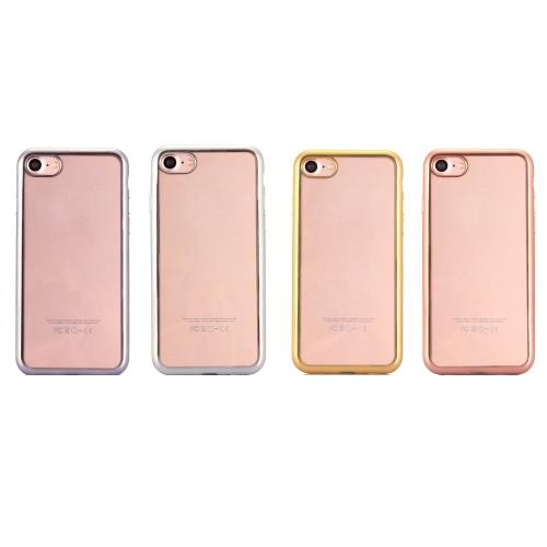 KKMOON гальванических Защитный чехол ТПУ чехол для iPhone 4.7 дюймов 7 Эко-чистый материал Стильный портативный ультратонкий против царапин Anti-пыли Прочный фото