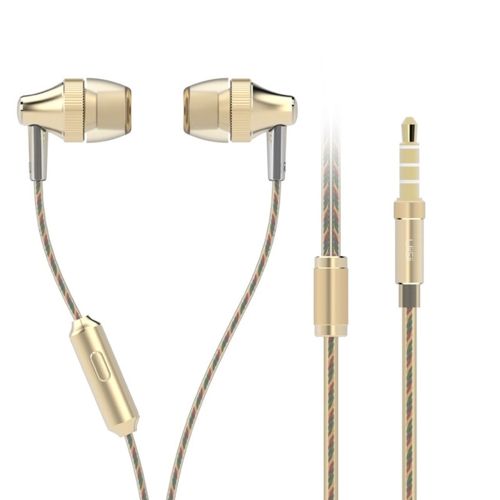 UiiSii HM6 In-ear Wired Poderoso fones de ouvido estéreo com microfone Earbuds Headphones