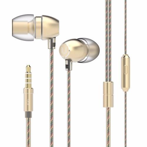 UiiSii HM7 Auscultadores com fio Potentes fones de ouvido com baixo estéreo 3.5mm fones de ouvido intra-auriculares com microfone