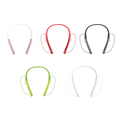 BT V4.2 Headset Wireless Neckband Headphones Earbuds Magnetic Design Stereo Sport Running Earphone with Noise Cancelling Mic