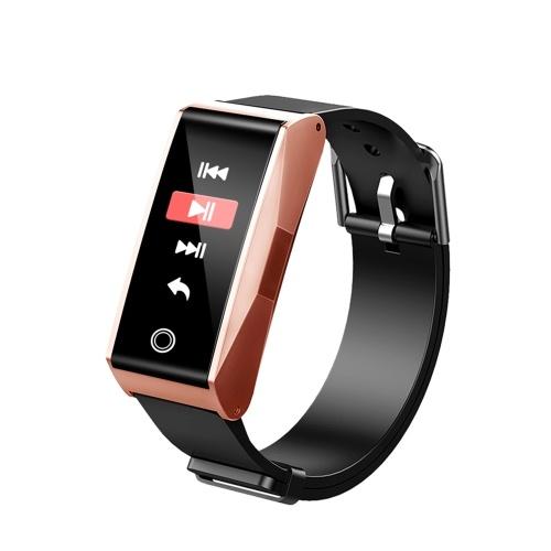 """Imagem de 0.96 """"Display Colorido Multi-funcional Inteligente Pulseira Tela de Toque BT4.0 Smartwatch Pulseira Relógio Suporta Freqüência Cardíaca / Pressão Arterial / Monitor de Sono Pedômetro Chamada Lembrete Mensagens Notificação e Mais Funções"""