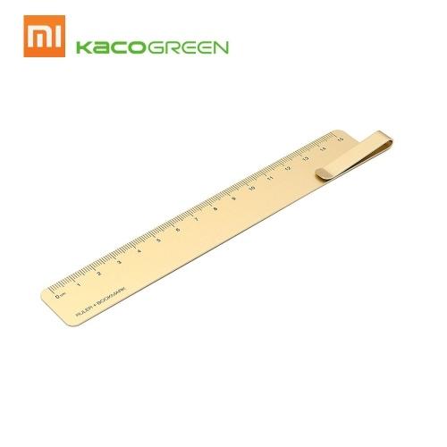 Xiaomi Mijia Kaco Ruma Lineal Lesezeichen Metall Lineal Durable 15 cm Schule Büro Student Supplies
