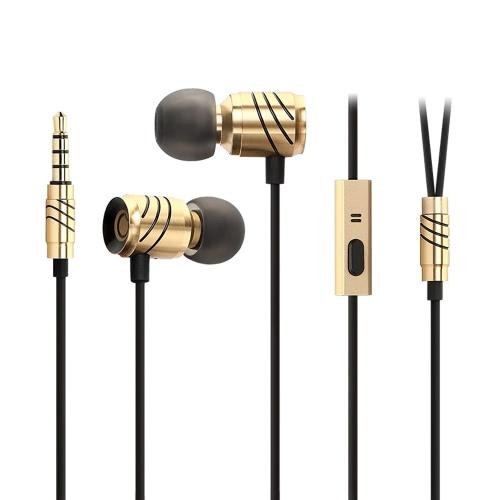 GGMM C800 Full Metal douszne Słuchawki douszne słuchawki stereo sport bieganie zestawu słuchawkowego Słuchawka głośnomówiący 3.5mm z mikrofonem do iPhone 7 Plus Xiaomi Samsung S7 krawędzi iPada