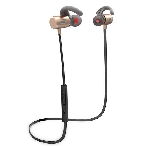 FOZENTO FT3 In-Ear Bezprzewodowy Stereo Stereo Słuchawki Słuchawkowe BT Uruchamianie Słuchawek Bez użycia rąk / Wyłączony / Włączony Odbiór / Wstrzymanie Odtwarzanie Muzyka / Wstrzymaj Głośność +/- dla iPhone 7 Plus Samsung S8