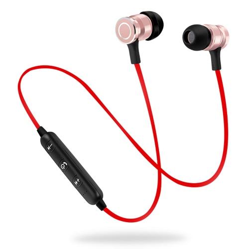 S6-6 fone de ouvido sem fio HD som estéreo Bluetooth 4.1 fone de ouvido fones de ouvido fone de ouvido de desporto Bluetooth para iPhone Android