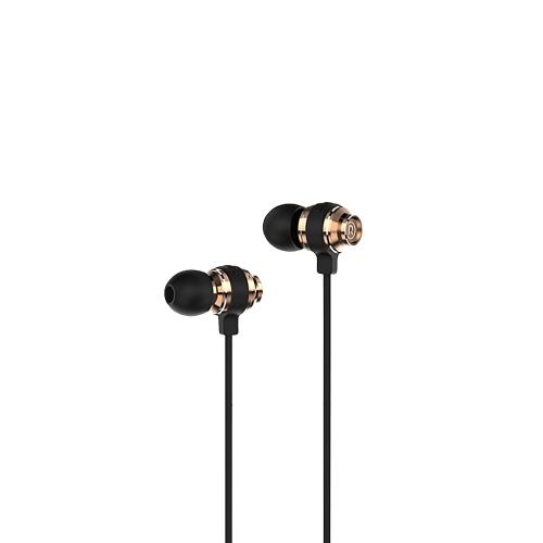 V10S BAYASOLO Stereo Auricolare In-Ear 3.5mm Jack Wired Auricolari Controllo volume Auricolare a mani libere per smartphone