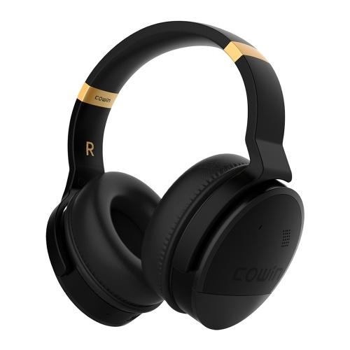 Auriculares estereofónicos sem fio da música de Cowin E8 Bluetooth
