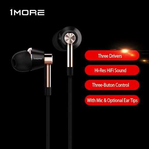 Xiaomi 1MORE Triple Driver In-Ear Headphones E1001