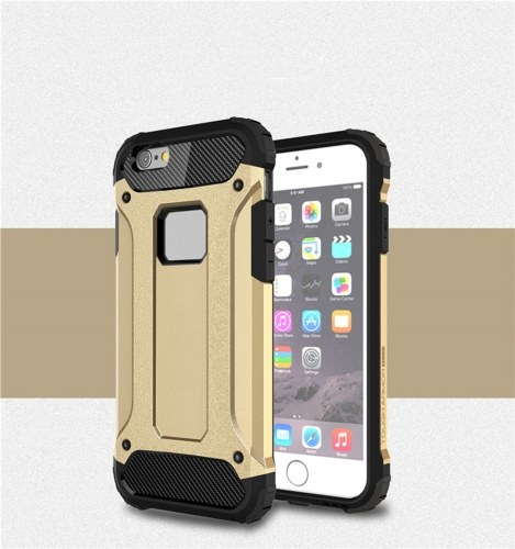 Per iPhone 6 Custodia / iPhone 6S Custodia Slim Fit Doppio strato Cover posteriore rigida Custodia protettiva antiurto e antiscivolo Custodia anti graffio per Apple iPhone 6 / 6S 4.7 pollici