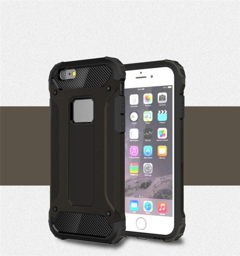 Para iPhone 6 Plus / iPhone 6S Plus Funda Slim Fit Dual Layer Cubierta trasera dura Parachoques Funda antideslizante Shock-Absorption & Skidproof para Apple iPhone 6 Plus / 6S Plus 5.5 pulgadas