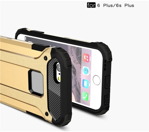 For iPhone 6 Plus / iPhone 6S Plus Case Slim Fit Dual Layer Hard Back Cover Bumper Protective Shock-Absorption & Skid-proof Anti-Scratch Case for Apple iPhone 6 Plus / 6S Plus 5.5 inch