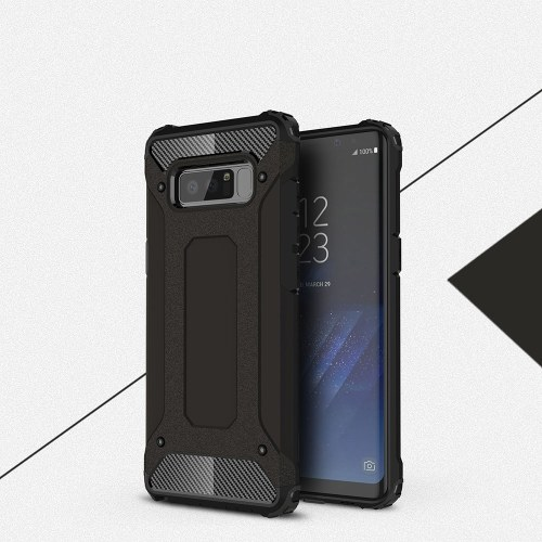 For Samsung Galaxy Note 8 Case Slim Fit Dual Layer Hard Back Cover Bumper Protective Shock-Absorption & Skid-proof Anti-Scratch Case 6.3 inch