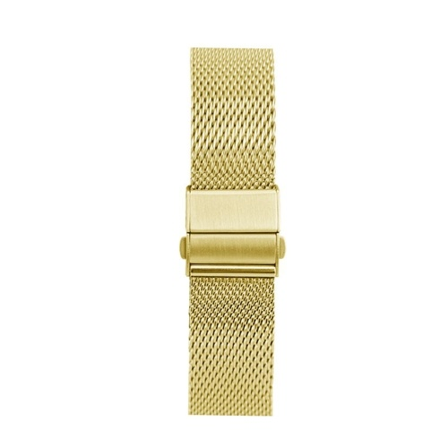 22mm Stainless Steel Watch Bands Quick Release Mesh Strap Replacement Metal Wristband with Folding Buckle Adjustable Bracelet Watchband Compatible with 22mm Smart/Traditional Watch