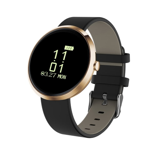 "Q90 Heart-rate Smart BT4.0 Sport Wristband 0.96 ""OLED Chamadas Notificação Actividade Acompanhamento Sleep Monitor para iPhone 7 Plus Samsung S8 + iOS8.0 Android4.4"