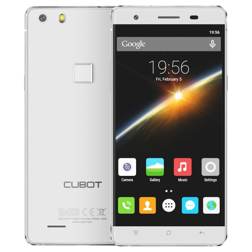 Cubot S500 Smartphone 4G FDD-LTE 3G WCDMA Android 5.1 OS Quad Core MTK6735A 64bits 5.0