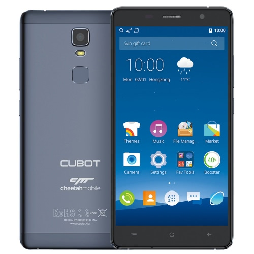 CUBOT Cheetah Smartphone 4G FDD-LTE 3G WCDMA Android 6.0 OS MTK6753A Octa Core 5.5